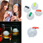 4pcs Round Ice Ball Freeze Mould Party Bar Sphere Whiskey Cocktails Drink Maker