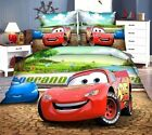 3D McQueen car-covers bedding set twin single size baby boy's bedroom decor