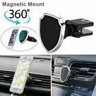 360° Universal Magnetic Car Air Vent Mount Holder Cradle For Cell Phone GPS New