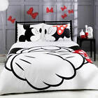 NEW Bedding Set Disney Mickey  Mouse Duvet Cover Love Bedroom Twin Full Queen