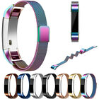 Sale.Mesh Metal Watch Band Milanese Magnetic Loop Watch Strap For Fitbit Alta HR