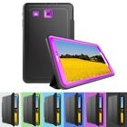 """Shockproof Protective Leather Smart Cover Case for Samsung Galaxy Tab E 9.6"""""""