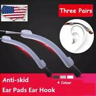 3 Pair Silicone Invisible Anti Slip & Anti Skid Ear Hook Ear Pads For Eyeglasses image