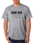 Bayside Made USA T-shirt Drink Beer Give Your Brain The Night Off