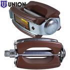 VINTAGE PEDAL BROWN BIKE MOPED MOTORCYCLE RETRO CLASSIC 9/16