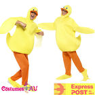 Unisex Duck Yellow Costume Animal Party Fancy Dress Farm Jumpsuit Onesi Mascot