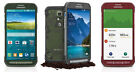 Samsung Galaxy S5 Active G870A Gray  / Green / Red (AT&amp;T) Unlocked. Fair 6/10 <br/> with OEM charger in a gift box