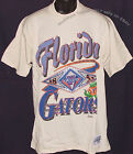 Vintage 90's Florida GATORS T-Shirt CAPITOL Graphics SEWN LOGO NCAA NWT Large