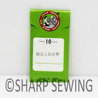 STRAIGHT NEEDLES - MERROW CLASS 10 18-A 18-E CROCHET - #8 & #10H