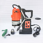 "WOO Magnetic Drill Press Rotate Stepless Speed 0.6"" Boring Cutter Tool 110V 220V"
