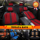 4 Colors Bring Car Seat Cover Flax & PU Leather For Toyota RAV4 Chair Mat C37LJ