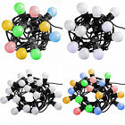 Multi-Colour Changing White Globe Festoon Big Bulb Christmas/ Party/ Barbeque