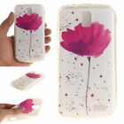 Floral Designs Rubber Soft TPU Silicone Back Case Cover For Lenovo K3 K4 K5 BE