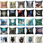 Animals & Oil Painting Linen Pillow Case Pillow Cover Cushion Cover Home Decor