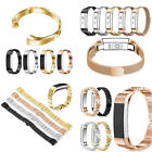 Stainless Steel Metal Band Watch Wrist Strap Bracelet For Fitbit Alta & Alta HR