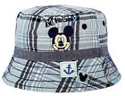 Childrens Disney Mickey Mouse Bush Hat Summer Sun Cotton Bucket Frill Cap