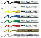 Universal Waterproof Permanent Paint Pen Oil Marker for Car Tyres, Arts & Crafts