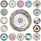 MUSEUM COLLECTION FLORAL TIN ENAMEL PLATE PICNIC CAMPING FESTIVAL V&A 26cm