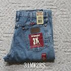 NWT Wrangler 31MWZ Men's Relaxed Fit Jeans Cowboy Denim Fits Over Boots Classic