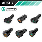 Quick Charge 3.0 Aukey 3-Port USB Car Charger For iPhone Sam