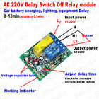 AC 220V~240V 230V Delay Timing Timer Relay Switch Time Delay Turn ON/OFF Module