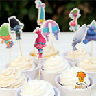 Troll Trolls Party Balloons Banner Cupcake toppers Birthday Table Cover balloon