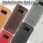 Pierre Cardin Genuine Leather Hard Back Case Skin Cover For Samsung Galaxy S8