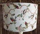 Bird Lampshade Shabby Chic lamp shade vintage   FREE GIFT