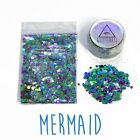 Chunky Mixed Glitter for Face Body Nails Eye Shadow Festivals Tattoo Cosmetic
