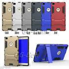 For Huawei P8lite, ALE-L02 ALE-L23 Hybrid Armor Heavy-Duty Stand Case Cover