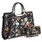 New Dasein Womens Handbags Faux Leather Satchels Tote Bag Shoulder Bags Purse <br/> 7 Different Kinds of Padlock or Top Handle Collections