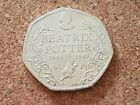 2016 Beatrix Potter 50p Fifty Pence Coins Collection Rare