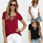 Fashion Women Ladies Summer Short Sleeve Loose T-Shirt Casual Blouse Shirts Tops