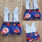 Toddler Kids Newborn Baby Girls Romper Jumpsuit Bodysuit Clothes Outfits 0-24M