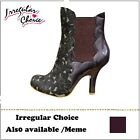 Irregular Choice Oh Meme (B) High Heel Shoes Ankle Boots