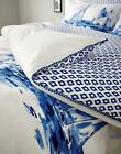 Joules Duvet Cover with Striking Sail Boat Print & Pom-Pom Trim from 100% Cotton