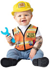 Baby Boys Girls Builder World Book Day Fancy Dress Costume Outfit 6-24 months