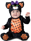 Baby Boys Girls Cute Black Cat Halloween Fancy Dress Costume Outfit 6-24 months