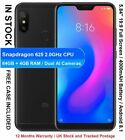 "Xiaomi Redmi 6 Pro 5.84"" Snapdragon 625 Octa Core Dual AI Cameras 64GB + 4GB RAM <br/> Android 8.1 MIUI / 12 Months Warranty / UK Stock"
