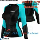 Women Long Sleeves Compression T-shirts Tops Shirts Base Layer Tight Quick Dry