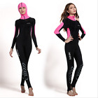 Womens Sun Protection Full Body Swimsuit Stinger Suit Dive Skin Hooded UPF50+