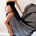 Women Chiffon Photography Props Maternity Gown Maxi Wedding Party Dress Clothing