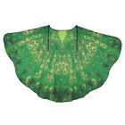 Women Butterfly Wing Large Cape Scarf Gradient Printing Beach Cover Up Shawl UK