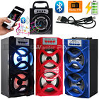 Outdoor Portable Wireless Bluetooth Speakers Stereo Super Bass w/USB/TF/FM Radio
