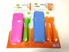 New 5 Baby Travel Cutlery Set Kids Child Cutlery Spoons & Forks With Carry Case