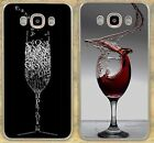 Red Wine Cup Glass Quotes Cheers Hard Case For iPhone 7 8...