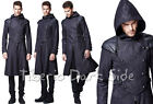 Punk Rave Y-582 Assassin Hooded Double Breasted Gothic Steampunk Male Men Coat