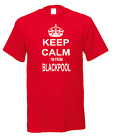 Keep Calm I'm From Blackpool Town City Nicknames Novelty Fun T-shirt