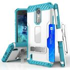 SHOCKPROOF RUGGED CASE W/STAND+HOLSTER CLIP COVER FOR LG ARISTO REBEL 2 L58VL