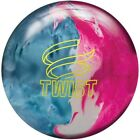 Внешний вид - Brunswick Twist Sky Blue/Pink/Snow Bowling Ball